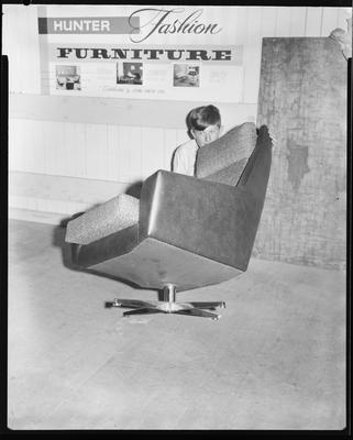 Film negative: Lionel Hunter Furniture, chair