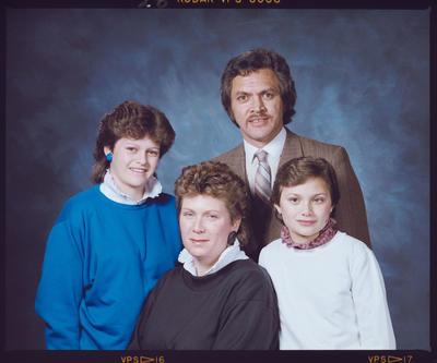 Negative: Bunker Family Portrait
