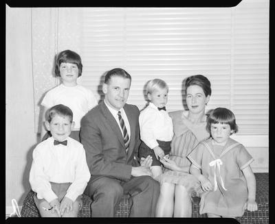 Film negative: McKay Family, group of six