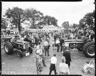 Film negative: International Harvester Company: A and P Show, tractors