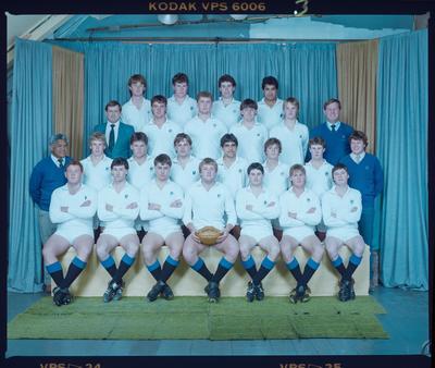 Negative: HSOB U19 Rugby 1985