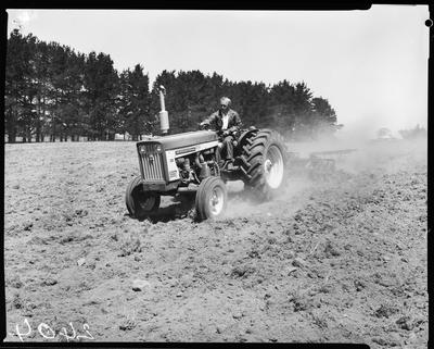 Film negative: International Harvester Company: Diesel 606 tractor