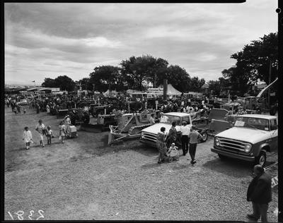 Film negative: International Harvester Company: A and P Show, small truck cabs