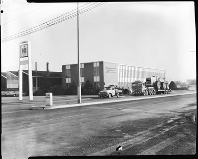 Film negative: International Harvester Company: Hough 550 payloader, Blenheim Road