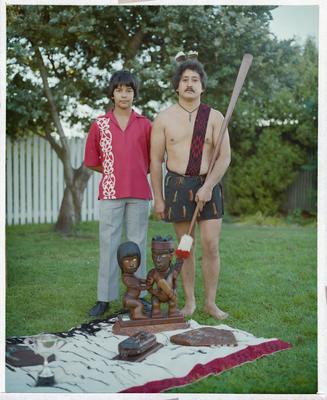 Negative: Two Ngā Potiki Club Members
