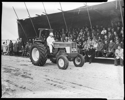 Film negative: Farm tractor