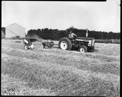Film negative: International Harvester Company: B47 baler
