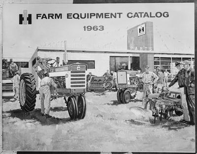 Film negative: International Harvester Company: tractors, farm equipment catalogue
