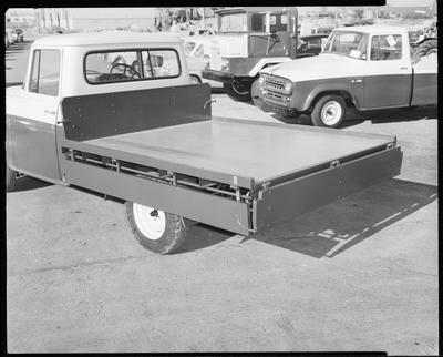 Film negative: International Harvester Company: flat deck truck