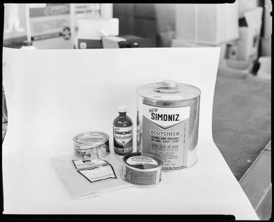 Film negative: International Harvester Company: parts department item, Simoniz Bodysheen