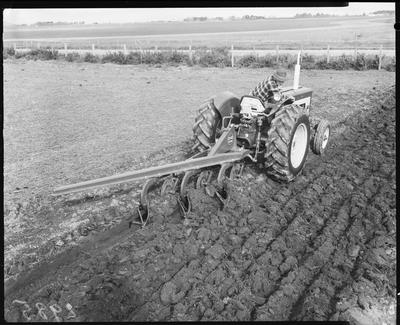 Film negative: International Harvester Company: 434 tractor and plough