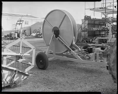 Film negative: A M Bisley and Company, turbo rain feed hose
