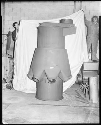 Film negative: Henry Simon, multi-branch feeder for Flemings Mill