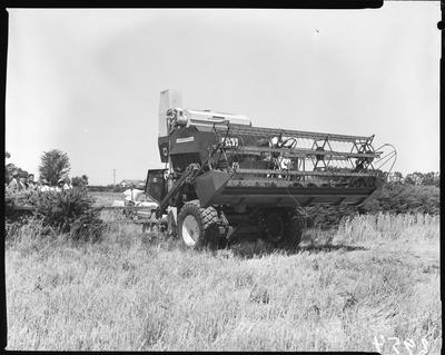 Film negative: International Harvester Company: Australian 85 header demonstration