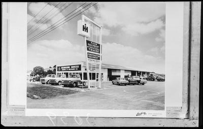 Film negative: International Harvester Company: Hamilton branch, headquarters and interior