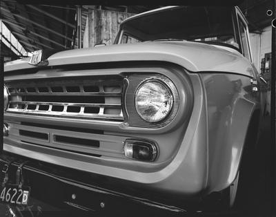 Film negative: International Harvester Company: c-line truck front grille
