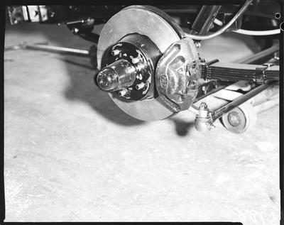 Film negative: International Harvester Company: c-line truck front brake