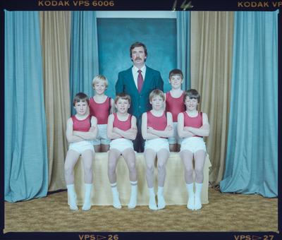 Negative: Canterbury Gymnastics Boys' Team
