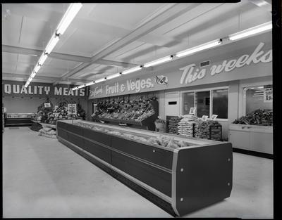 Film negative: McAlpine refrigeration units at St Albans