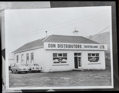 Film negative: Don Agencies Limited, building