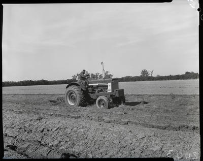 Film negative: International Harvester Company: 706 tractor and plough