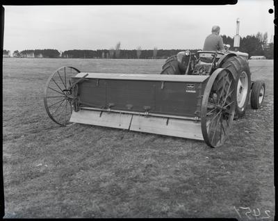 Film negative: International Harvester Company: seed harrow