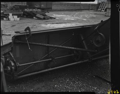 Film negative: International Harvester Company: bars on baler