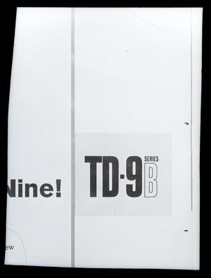 Film negative: International Harvester Company: logo, TDG Series B