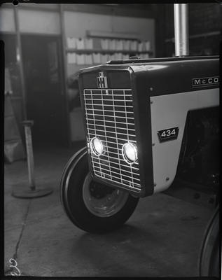 Film negative: International Harvester Company: 434 tractor headlamps