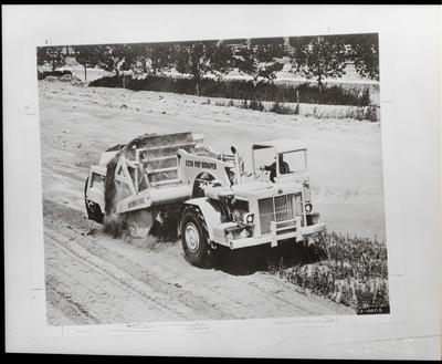 Film negative: International Harvester Company: scraper