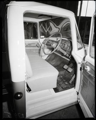 Film negative: International Harvester Company: c-line truck, drivers side of cab