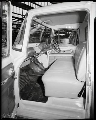 Film negative: International Harvester Company: c-line truck, passengers side of cab