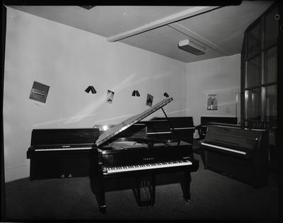 Film negative: Sedley Wells Limited, pianos