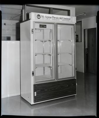 Film negative: McAlpine refrigerated cabinet