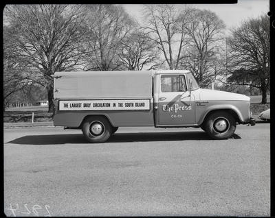 Film negative: International Harvester Company: The Press C1100 truck