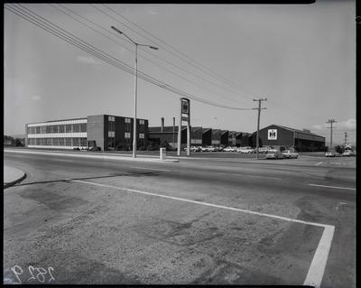Film negative: International Harvester Company: Blenheim Road building