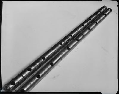 Film negative: International Harvester Company: damaged rocker pipe