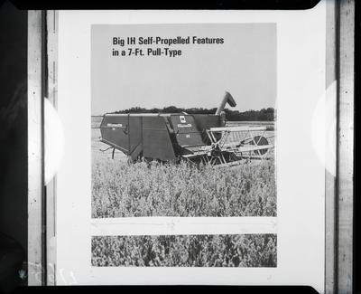 Film negative: International Harvester Company: 82 header