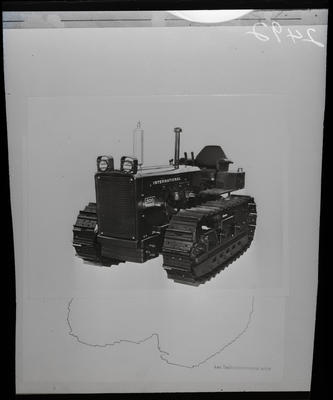 Film negative: International Harvester Company: 500 tractor