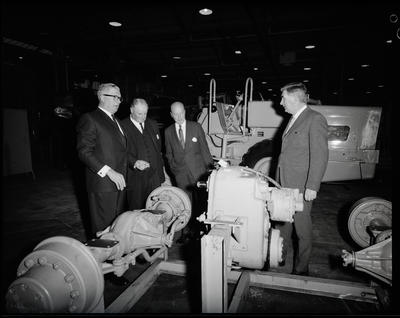 Film negative: International Harvester Company: opening the computer room