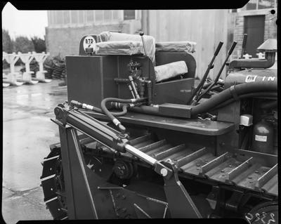 Film negative: International Harvester Company: BJD6 dozer