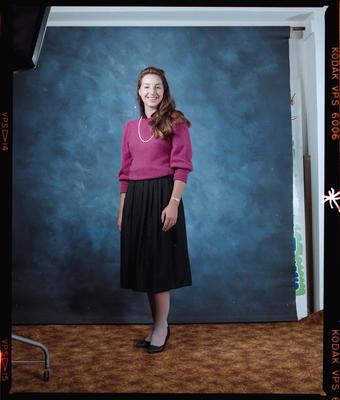 Negative: Miss Mace Portrait