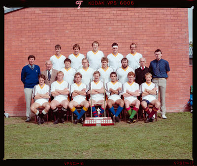 Negative: Lincoln College 1st XV Rugby 1986