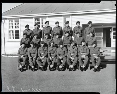 Film negative: Burnham Medical Depot, NSTU group
