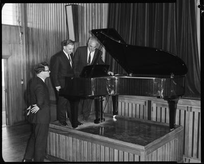 Film negative: Sedley Wells Limited, piano at Aranui school