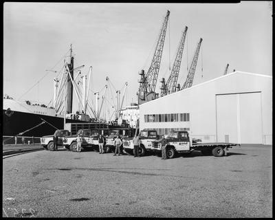 Film negative: International Harvester Company: Mitchell trucks