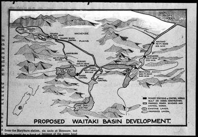 Film negative: International Harvester Company: Waitaki Power Scheme