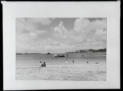 Film negative: International Harvester Company: hydrofoil and Island