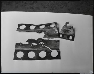 Film negative: International Harvester Company: damaged part