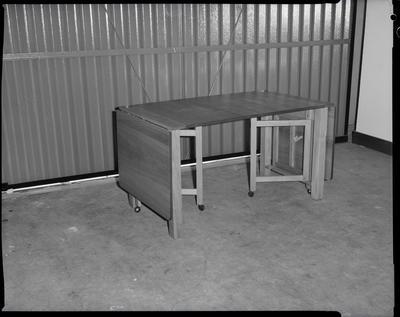 Film negative: McLachlans Furniture, table